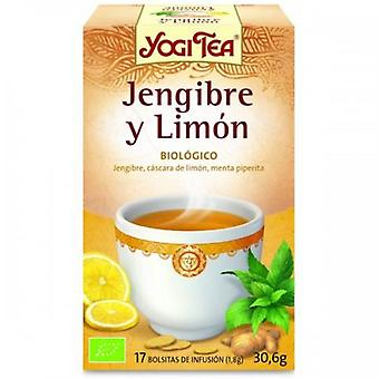 Yogi Tea Lemon Ginger Infusion 17 Bags (Dietetics and nutrition , Herbalist's , Teas)