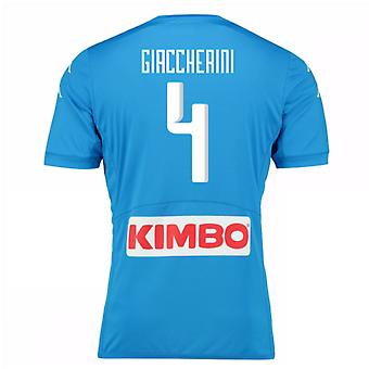 2016-17 Napoli authentiek thuis Shirt (Giaccherini 4)
