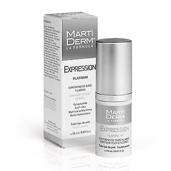 Martiderm Expression Platinum Eye and Lip Contour Gel