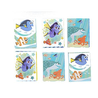 Disney Finding Dory 6 x 24 Stickers Featuring Dory, Nemo & Hank Age 3+