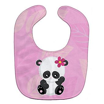 Carolines Treasures  BB6799BIB Hey Ya'll Panda Baby Bib