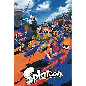 Splatoon ポスター ポスター印刷