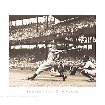 Joltin Joe DiMaggio Poster Print by Bettmann Archive (28 x 24)