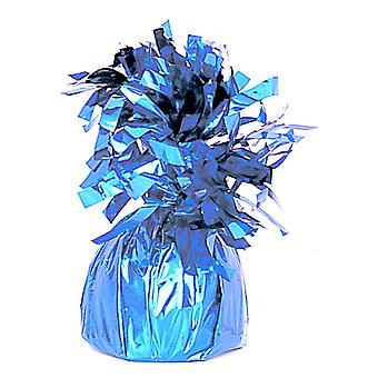 Unique Party Light Blue Foil Tassels Balloon Weight