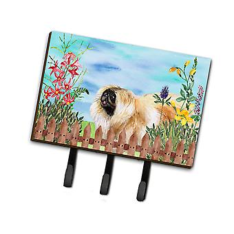 Carolines Treasures  CK1243TH68 Pekingese Spring Leash or Key Holder