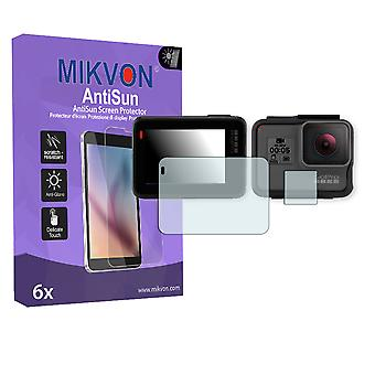 GoPro Hero 5 Screen Protector - Mikvon AntiSun (Retail Package with accessories)