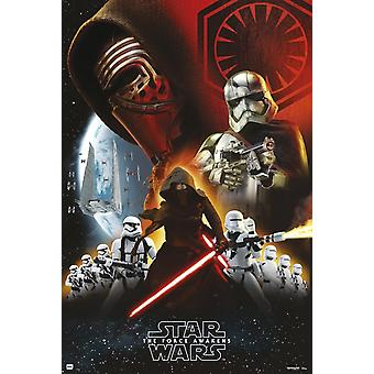Star Wars Empire schwarz Poster Plakat-Druck