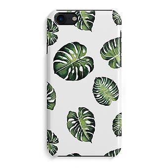 iPhone 7 Full Print Case - Tropical leaves