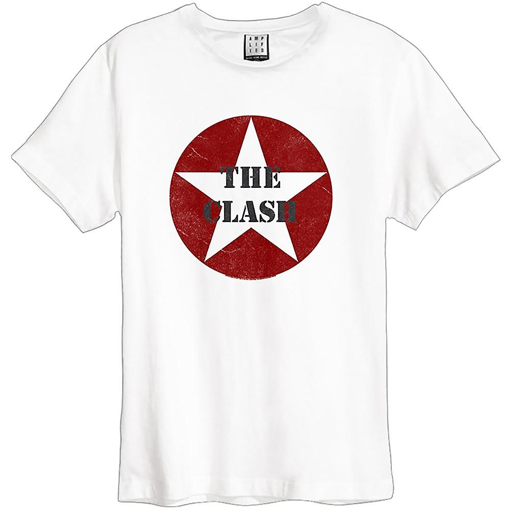 Amplified - The Clash - Star Logo