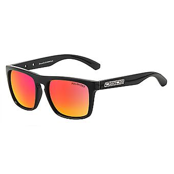 Dirty Dog Monza Sunglasses - Black / Red Fusion