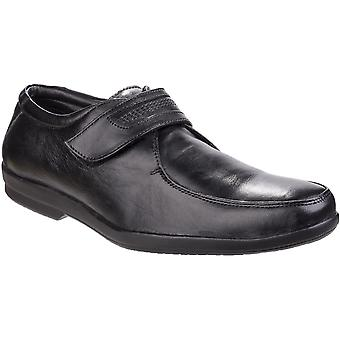 Fleet & Foster Mens Jim Apron Toe Touch Fastening Smart Oxford Shoes