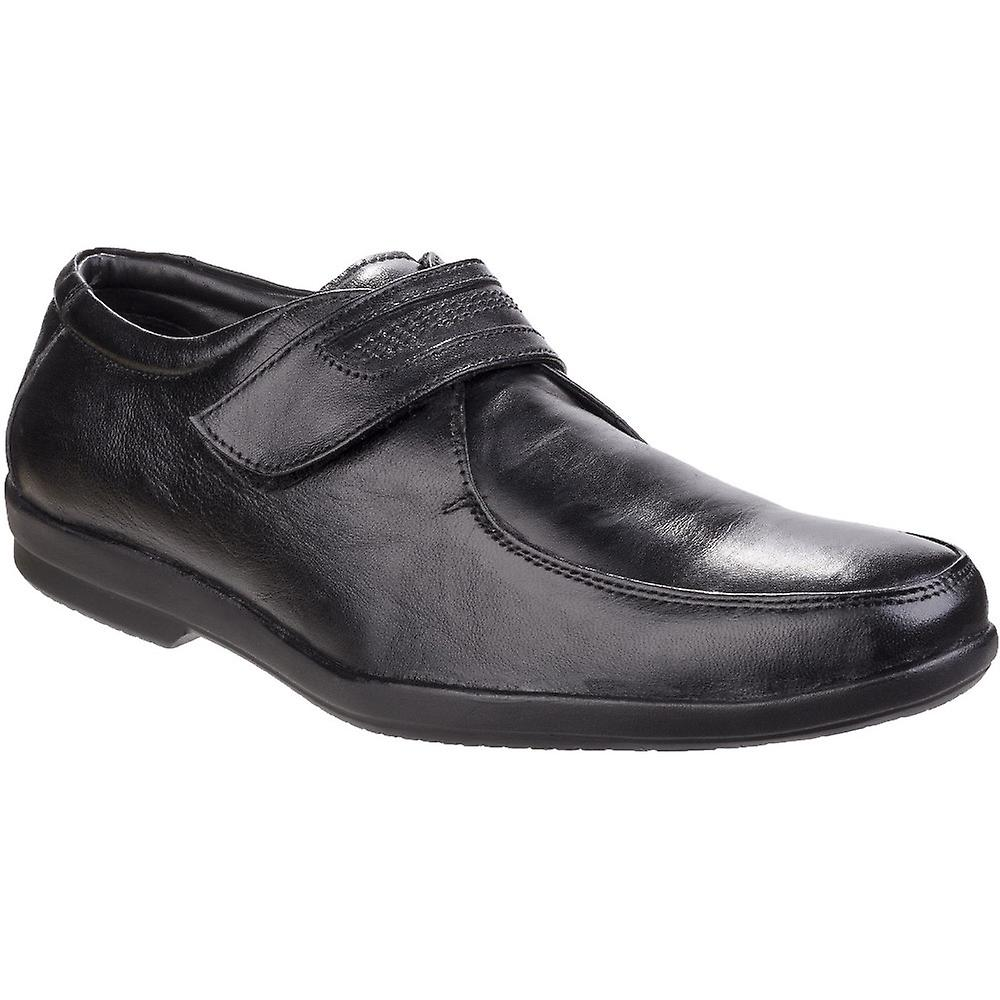 Mens Fleet Jim Apron amp; Foster Shoes Fastening Touch Toe Oxford Smart qqxEr