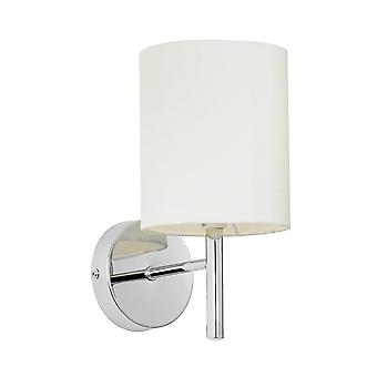 Endon Lighting Brio Wall Light In Polished Chrome Plate