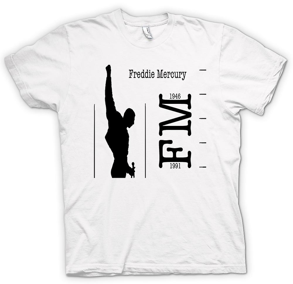 Womens T-shirt - Freddie Mercury Queen - FM 46 - 91