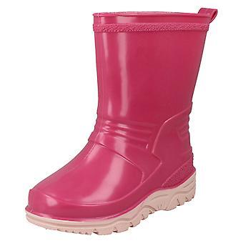 Girls Spot On Wellington Boots