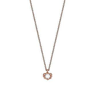 ESPRIT ladies chain stainless steel Rosé LEO lion ESNL03216C420