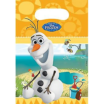 Party bags bags bag OLAF Frozenparty kids birthday 6 pieces