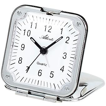 Atlanta 1122 alarm folding alarm clock alarm clock quartz analog chrome