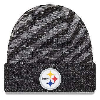 New era NFL sideline 2018 knit hat - Pittsburgh Steelers
