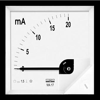 Lumel MA17 50A/60mV Panel-mounted measuring device 72 x 72 mm 50 A/DC (60 mV) Assembly dimensions 68 x 68 mm
