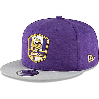 New Era Snapback Cap - Sideline Away Minnesota Vikings