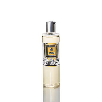Organic Body Wash & Shower Oil ( 2in1 is Best ) - For Women - by Pairfum - Perfume: Orangerie Blossoms - 250ml - Gently Cleanse and Moisturise Your Skin while you Shower - Rich in Organic / Natural Essential Oils - Ideal for dry or sensitiv