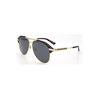 Gucci Grey Aviator Sunglasses Gg0288Sa 001 60