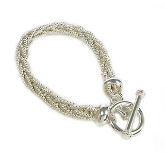 Cavendish French Sterling Silver Multi-Strand Rope Bracelet