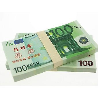 Play money-100 Euro (100 banknotes)