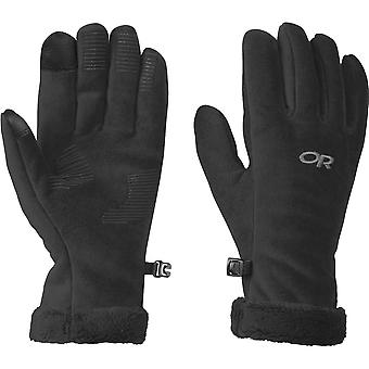 OUTDOOR RESEARCH WOMENS FUZZY SENSOR GLOVES
