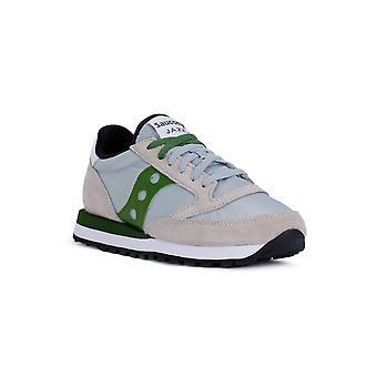 Saucony jazz eller grå grønn mote joggesko