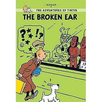 The Broken Ear by Herge - 9781405266994 Book
