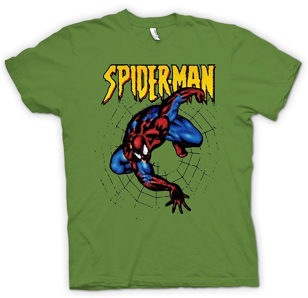 Heren T-shirt - Superman - Spiderman - popart - komische held