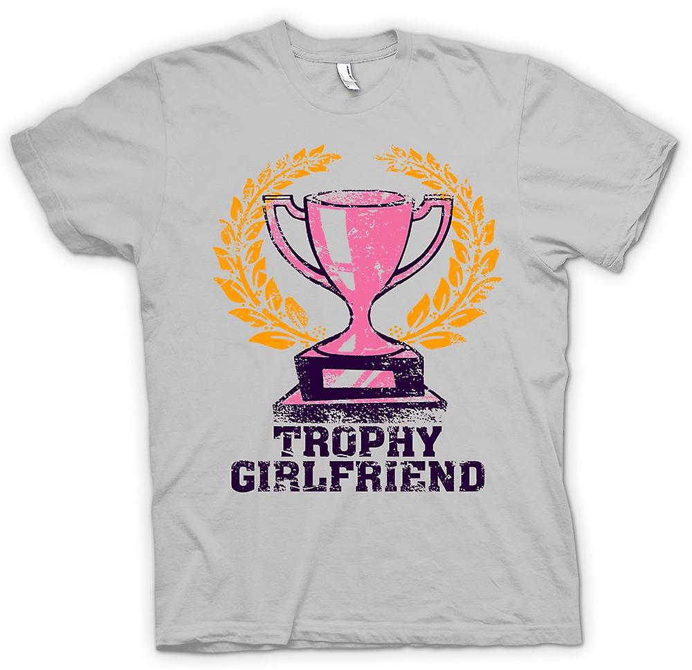 Hommes T-shirt - Girlfriend Trophy - Drôle