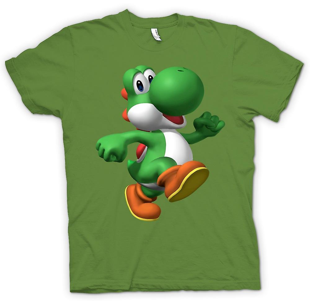Mens t-skjorte - jeg elsker Yoshi - spiller