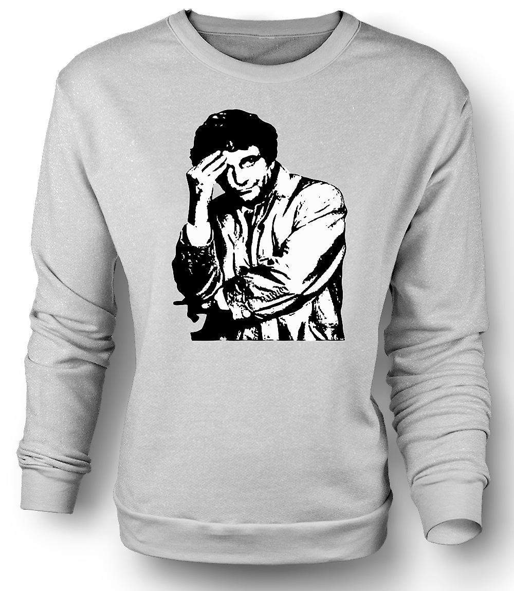 Mens Sweatshirt Columbo - BW - Classic Detective