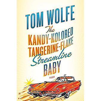 La mandarine de Kandy-Kolored-Flake Streamline bébé