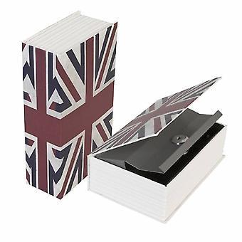 Bücher sicher britische Flagge