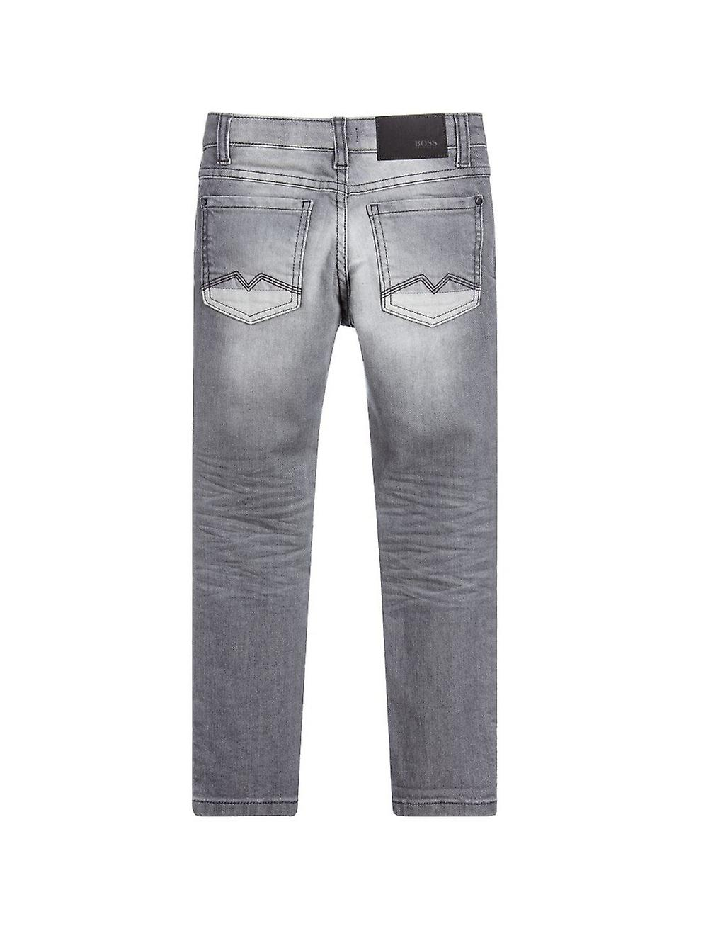 BOSS Kidswear Light Grey Skinny Fit Jean