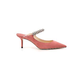 Jimmy Choo Pink Leather Sandals