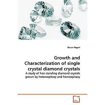 Growth and Characterization of single crystal  diamond crystals by Regmi & Murari