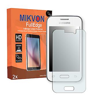 Samsung Galaxy Young 2 screen protector - Mikvon FullEdge (screen protector with full protection and custom fit for the curved display)