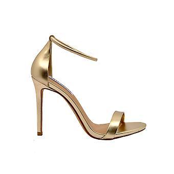 Steve Madden Gold Leather Sandals