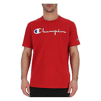 Champion Red Cotton T-shirt