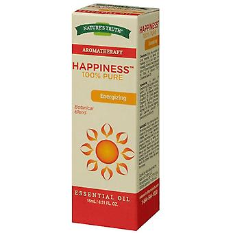 Nature's truth aromatherapy essential oil blend, happiness, 0.51 oz