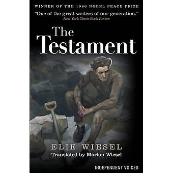 The Testament by Elie Wiesel - Marion Wiesel - 9780285642393 Book