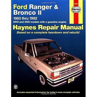 Ford Ranger and Bronco II (1983 to 1992) Automotive Repair Manual (6t