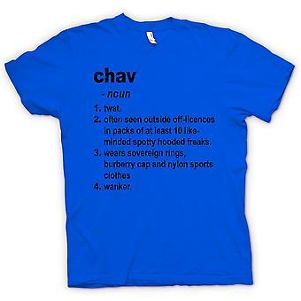 Kids T-shirt - Chav Defination - Brilliantly Funny Dictionary