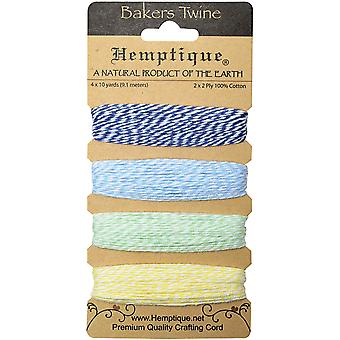 Hemptique Baumwolle Bäcker Bindfäden Card Set 2 Ply 410' Pkg Hummingbird Btc2 Hum