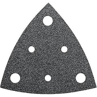 Delta grinder blade Hook-and-loop-backed, punched Grit size 40 Width across co
